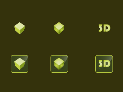 3 D Icons